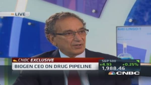 Biogen CEO: Want to stop inversions? Reform tax code