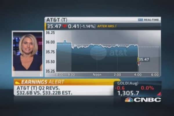 AT&T Q2 earnings out