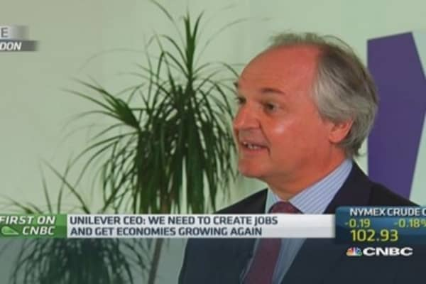 QE to blame for EM slowdown: Unilever CEO