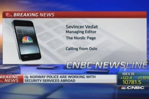 Norway warns of 'imminent' terrorist attack