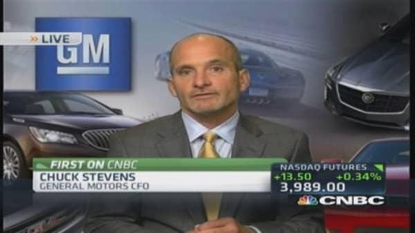 GM CFO: No cap on compensation program