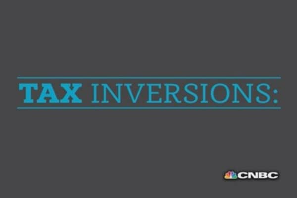 Tax inversion crackdown