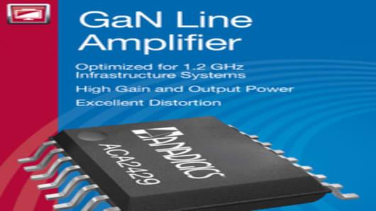 ANADIGICS DOCSIS 3.1 GaN Line Amplifier