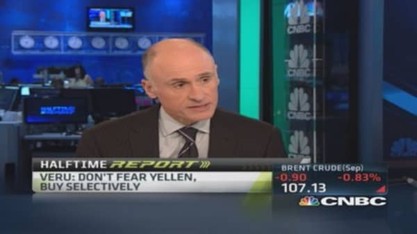 Who's afraid of Janet Yellen?