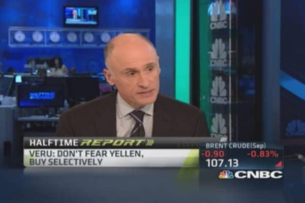 Who's afraid of Janet Yellen?