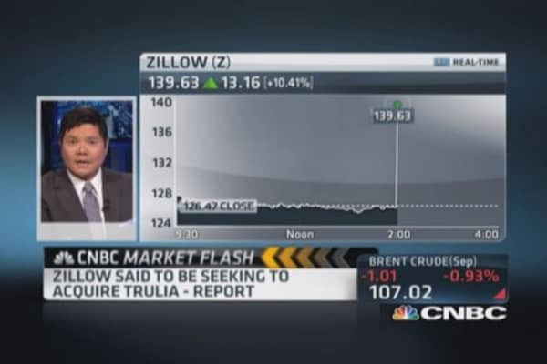 Zillow seeking acquisition of Trulia: Report