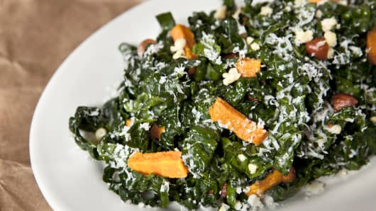 Northern Spy Food Co.'s kale salad.