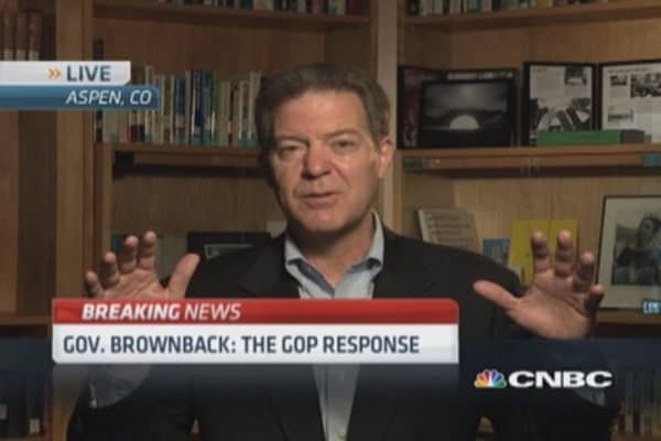 Gov. Brownback: Obama needs Congress