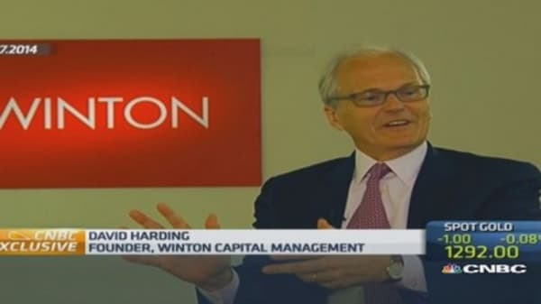 Winton Capital's Harding on stock plunges
