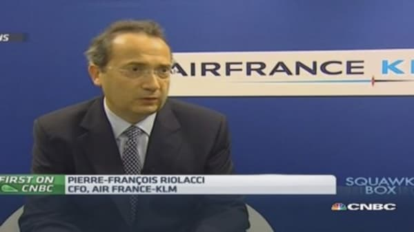 Air France-KLM result will improve in 2014: CFO