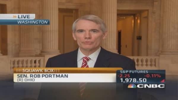 Sen. Portman: Political one-offs won't solve tax problem
