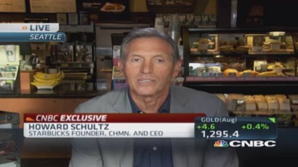 Starbucks CEO: We are winning