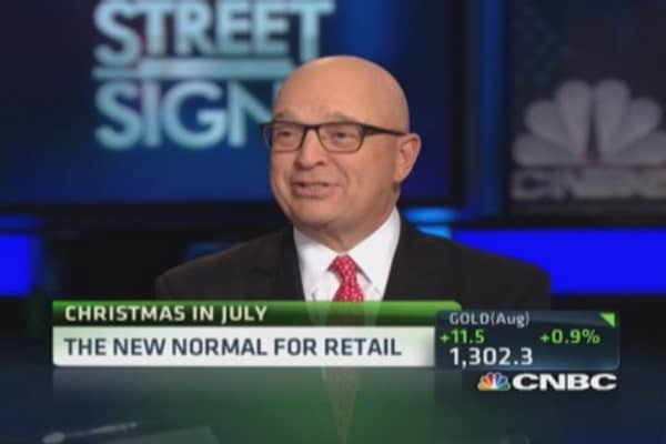 Christmas in July the new normal?