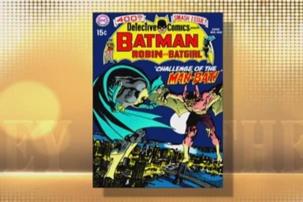 Holy 75th birthday Batman