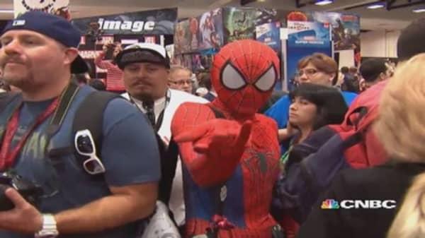 The costumed fandom of Comic-Con
