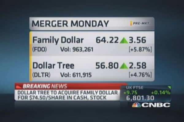Dollar Tree to acquire Family Dollar