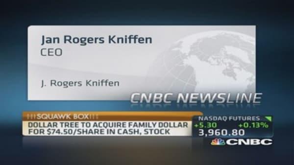 Dollar Tree's $8.5 billion bid for rival Family Dollar