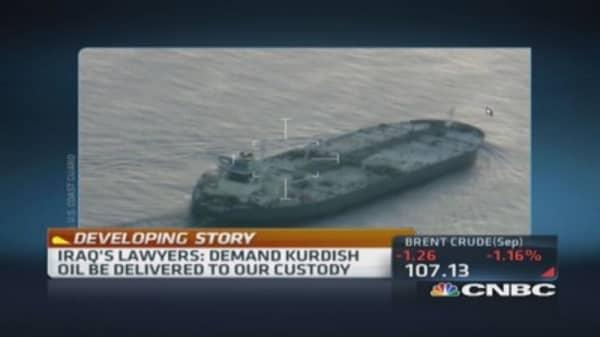 Iraq warns US on Kurd oil