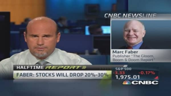 Marc Faber: Chinese stock market breaking out to upside