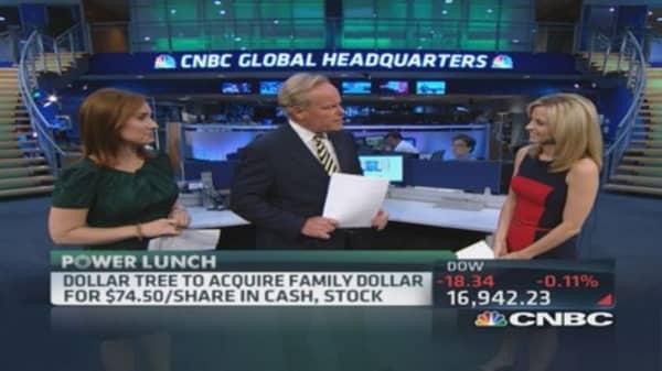 Dollar Tree acquiring Family Dollar