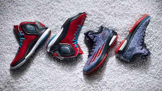 The D-Rose 5 Boost and Crazylight Boost, from Adidas.