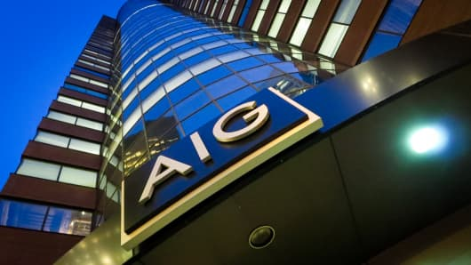 AIG headquarters in New York City