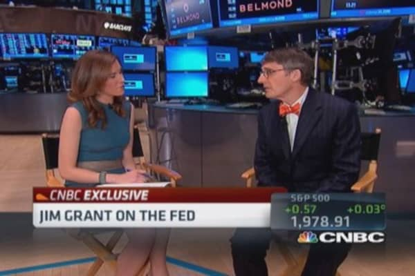 Jim Grant: Fed has little self-awareness