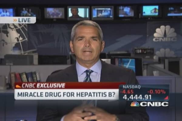 Miracle drug for Hepatitis B?