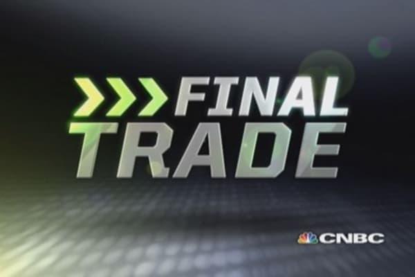 Fast Money Final Trade: EJ, RFMD, FSLR, EMN