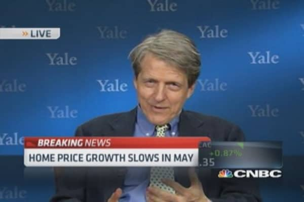 Robert Shiller: New anxieties at work