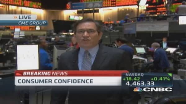 July consumer confidence index 90.9