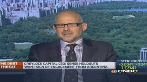 Argentina: Bond holders want 'gesture'
