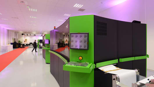 Xerox's Impika Inkjet Innovation Centre in Aubagne, France
