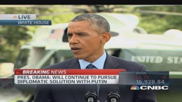Pres. Obama: New sanctions have 'bigger bite' on Russia