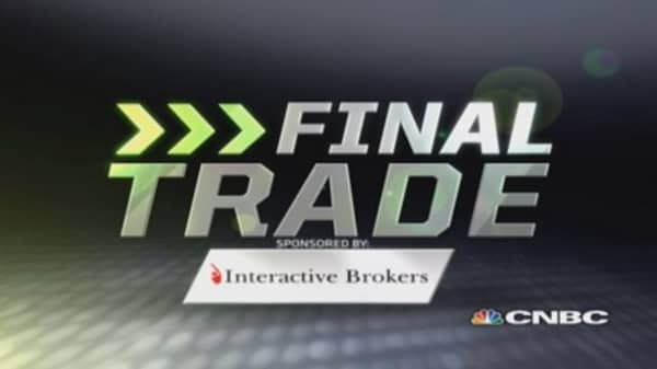 Fast Money Final Trade: TWTR, AMZN, LNG, FB