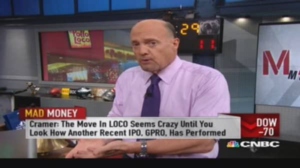 LOCO underpriced on IPO: Cramer
