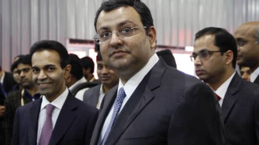 Cyrus Mistry, Chairman of TATA Group.