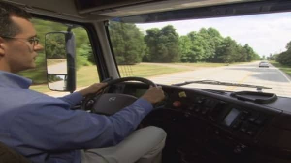 Truck safety technology in action