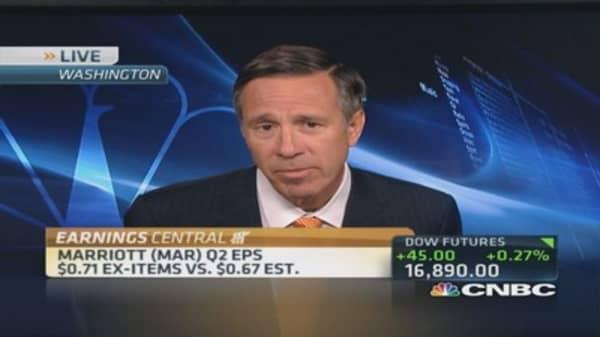 Marriott CEO: US economy growing
