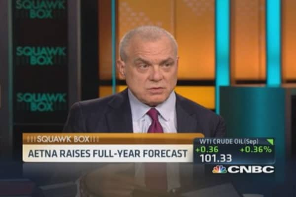 Aetna CEO: Utilization numbers up