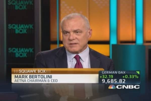 Aetna CEO says economy doesn't feel that strong
