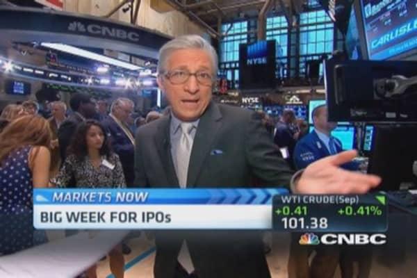 Pisani's market open: US Steel gain