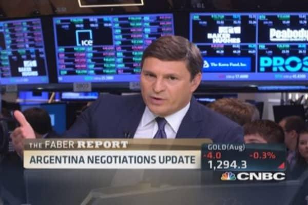 Faber Report: Argentina negotiations begin