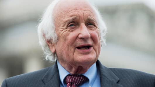 Rep. Sander Levin, D-Mich., speaks on July 24, 2014.