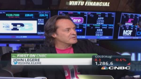 T-Mobile CEO: Many ways to bring scale beyond Sprint