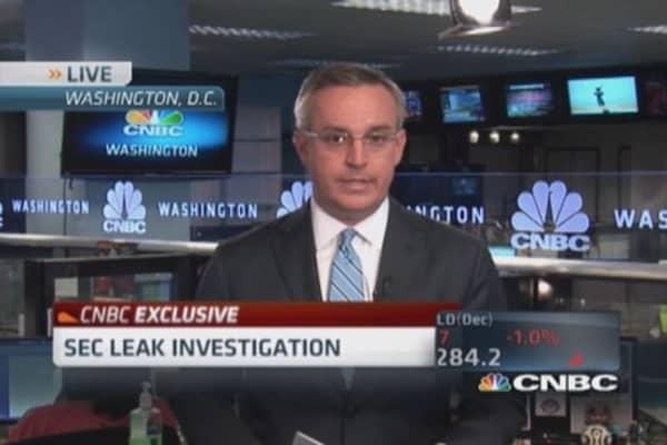 Massive SEC leak probe