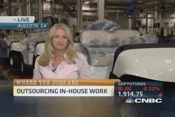 Outsourcing in-house work