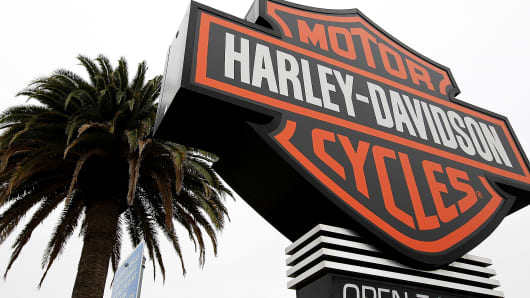 harley-davidson says plans to cut about 200 jobs
