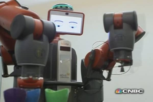 Meet Baxter: The friendly robot that wants your job
