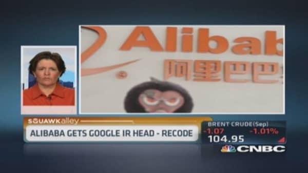 Alibaba transitioning to US company: Swisher
